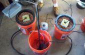 Hoe te maken A meerdere emmer Top Feed hydrocultuur groeien systeem