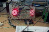Arduino 8 x 8 matrix gekke ogen