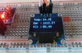 Standalone Arduino hoogtemeter