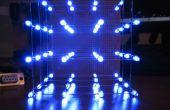 LED kubus 4 x 4 x 4