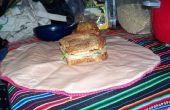 Herbruikbare sandwich houder
