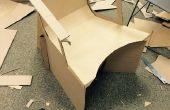 Ontwerpen van een functionele kartonnen stoel