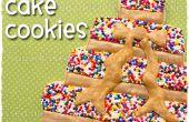Bestrooi de Cake Cookies
