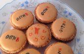 OITNB (oranje Is het nieuwe zwart) Macarons