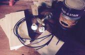 Stoom punk lamp op 3040 CNC