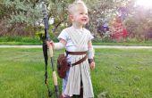 Star Wars Rey kostuum met rekwisieten