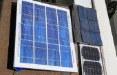 Bouw een goedkoop, spatwaterdichte zonnepaneel voor de lol