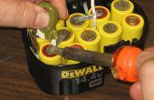 Hoe te te herbouwen van een pak van de batterij Dewalt 14.4v