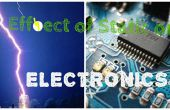 Effect van statische elektriciteit op elektronica