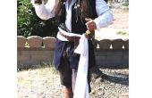 Hoe maak je een Captain Jack Sparrow kostuum op een schoen string begroting!