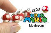 #Redo tag - Super Mario Mushroom oorbellen - Polymer Clay