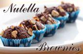 Nutella Brownies   Drie ingrediënten
