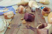 Maken van een stevige houten Ring