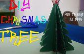DIY How To Make kerstboom van papier
