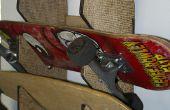 Laser Cut/gegraveerde Skateboard Rack