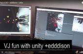 VJing in eenheid + edddison