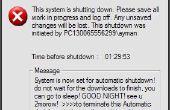 Programma van uw PC uit te schakelen automatisch door asigning die keer dat je wilt doen die