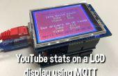 YouTube Stats weergeven op een 320 x 240 Pixel LCD-scherm met een Arduino Uno