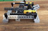 Hoe maak je een eenvoudig aanpasbare Lego transmissie deel 1