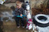 Maken van een miniatuur Snowman Kit