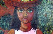 Bijenwas schilderen aka Wastekening schilderij