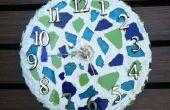 Hoe maak je een werkende mozaïek klok