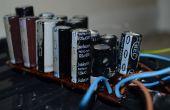 Maken van een goedkope wegwerp camera condensator bank
