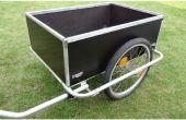 Opvouwbare fiets aanhangwagen