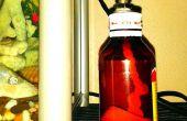 DIY: Fiets buis mondstuk Lamp
