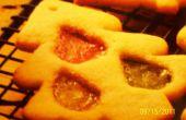 Zie via gebrandschilderd glas Cookies