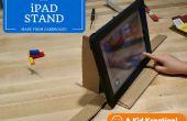 Kartonnen iPad Stand voor Stop Motion Video's
