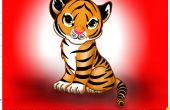 Hoe teken je een Tiger52