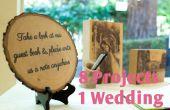 Decoreren van uw bruiloft met hout 8 in 1 Instructable