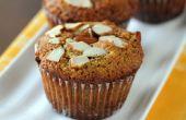 Amandel papaver zaad Muffins