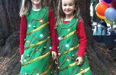 Light Up kerstboom kostuum