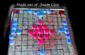 DIY: Maak een Hnefatafl, de Vikingen schaakbord spel, als een reizende Raad versie uit foam klei