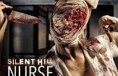 Silent Hill Nurse - SFX make-up Tutorial