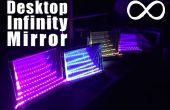 Vrijstaande bureaublad Infinity spiegel - gemakkelijk te versieren