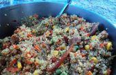 [Backpacken voedsel] Quinoa met groenten