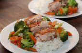 Krokante Chinees varkensvlees belly langzaam gekookt