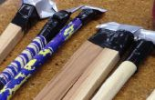Cola Pen constructie van Arizona hout en SF blikjes op Techshop