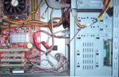 Organiseren van de draden en kabels in uw computer