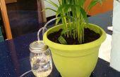 Indoor automatisch planten water geven systeem