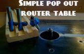 Eenvoudige pop uit router tabel
