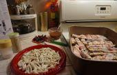 BACON WRAPS voor aubergines (mijn eigen recept)