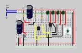 Geluid naar licht controle Circuit