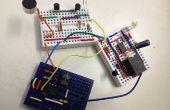 Een eenvoudige clap-schakelaar met 3 verschillende circuit modules