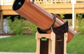 Houten telescoop deel 2: Buis en Mount