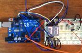 Arduino digitale 7-Segment Thermometer
