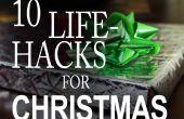 10 life Hacks, die You Need To Know voor Kerstmis!